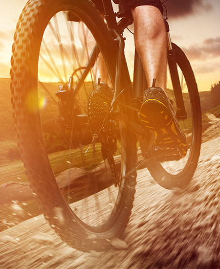 Cykelträning